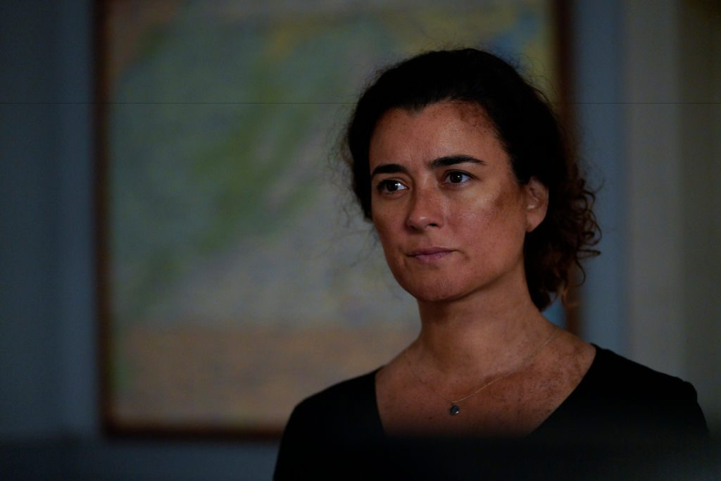 Cote de Pablo as Ziva David in the Season 17 premiere of 'NCIS.'