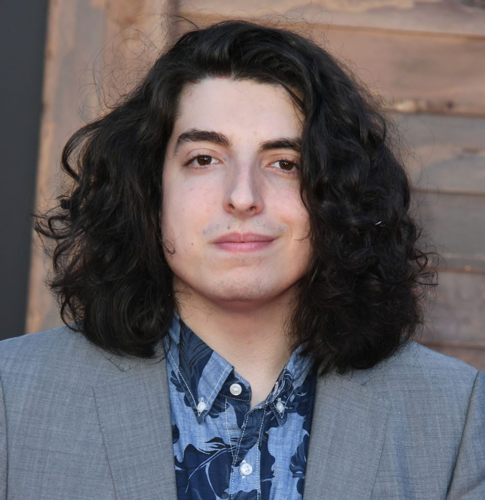 Nick Wolfhard at red carpet event