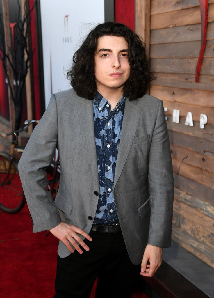 Nick Wolfhard at a red carpet event