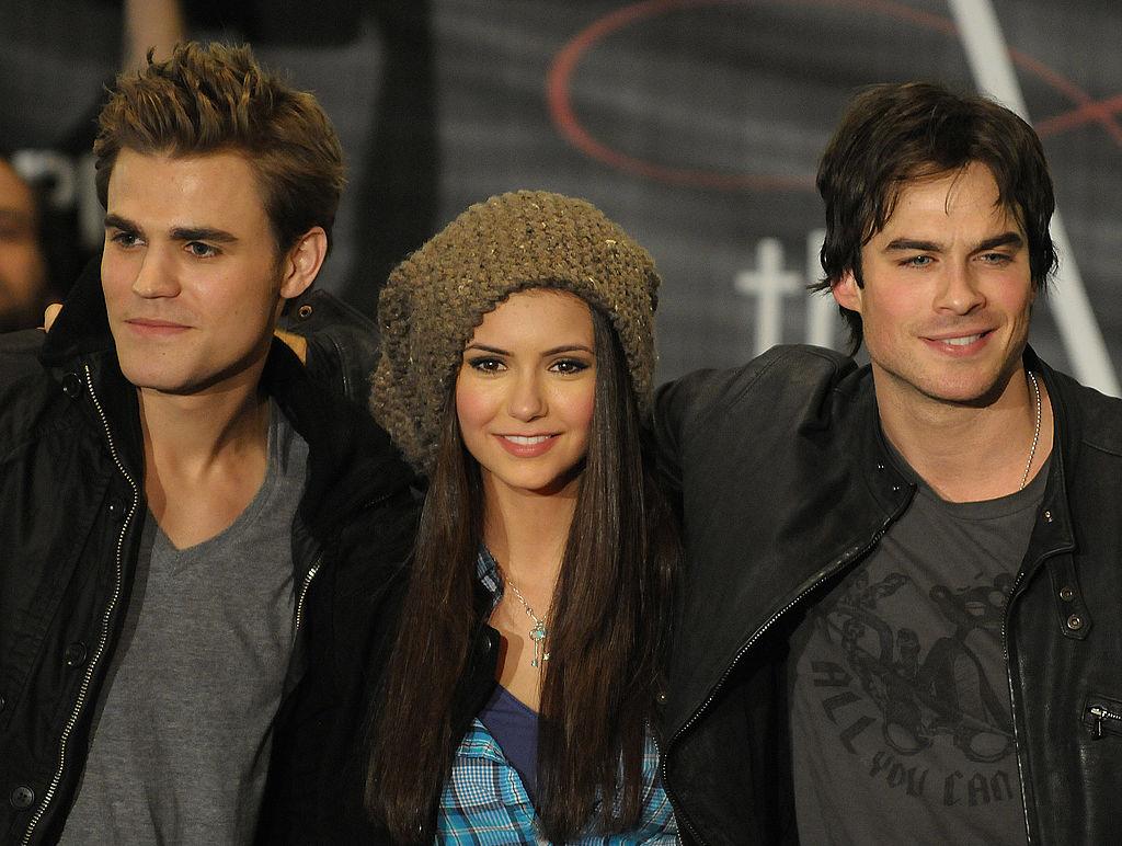 The Vampire Diaries cast (Paul Wesley, Nina Dobrev, Ian Somerhalder)