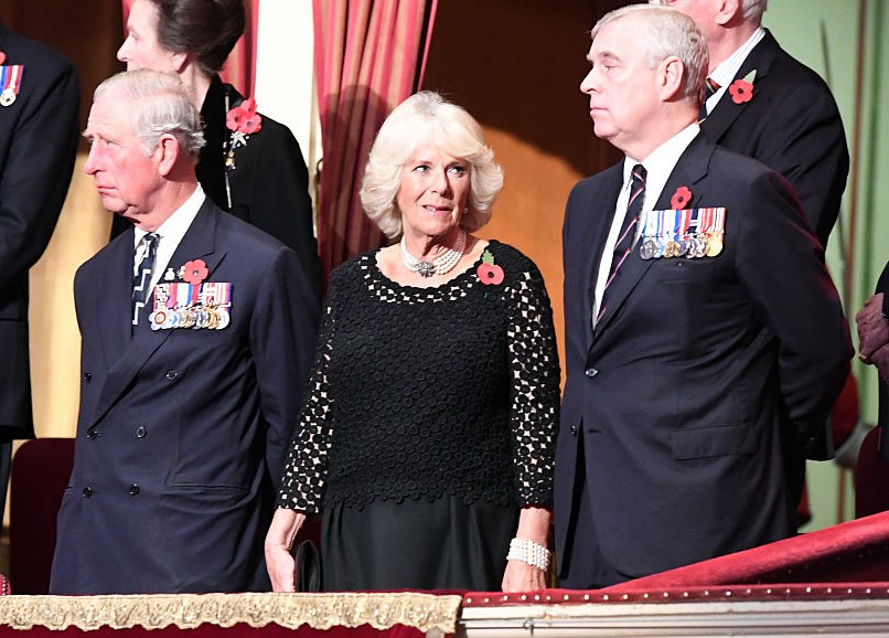 Prince Charles, Camilla Parker Bowles, Prince Andrew