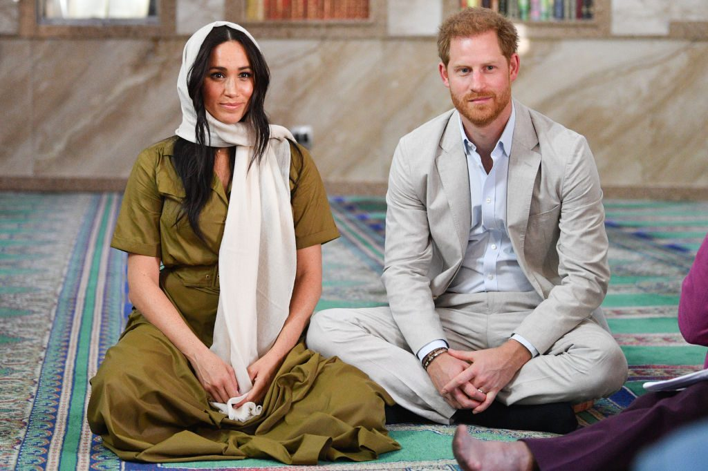 Megan Markle and Prince Harry in Africa
