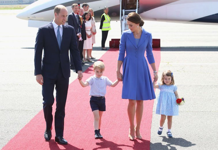 Prince William Kate Middleton Prince George Princess Charlotte