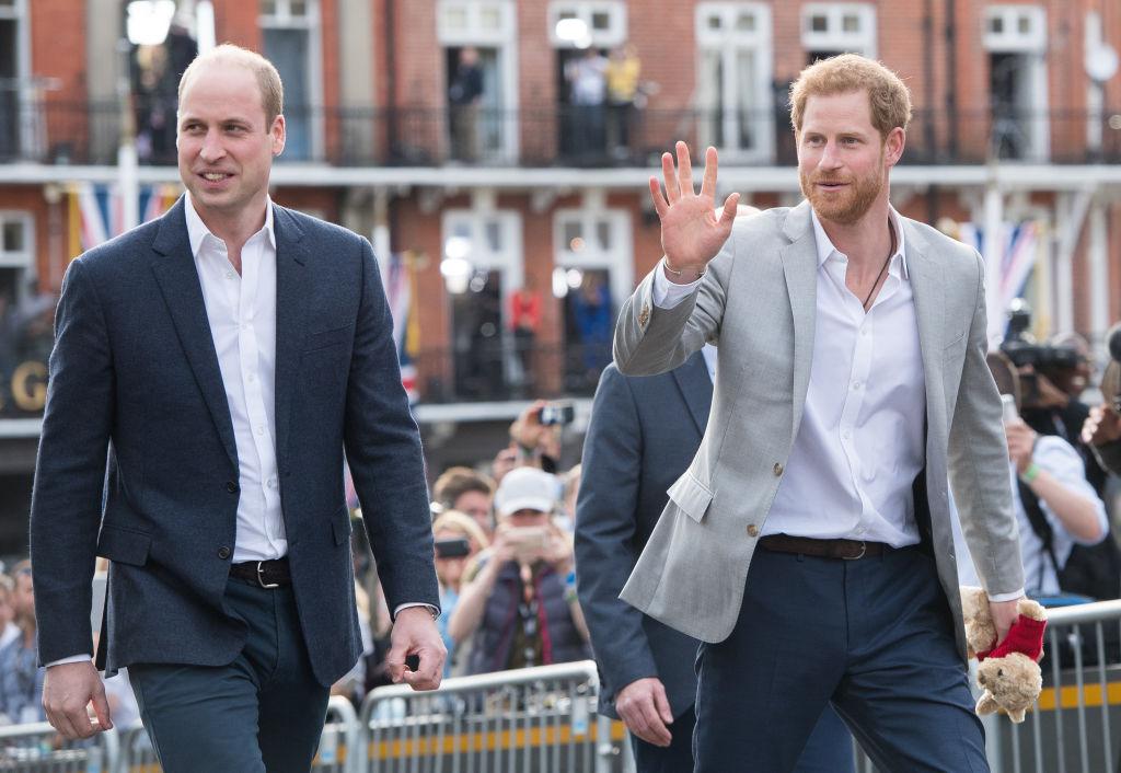 Prince William, Duke of Cambridge, Catherine, Duchess of Cambridge, Meghan, Duchess of Sussex and Prince Harry, Duke of Sussex