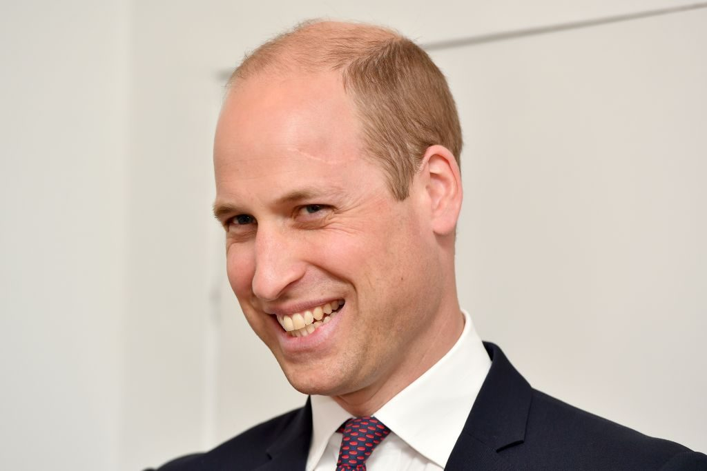 Prince William's scar