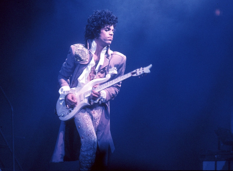 Prince in concert, 1985