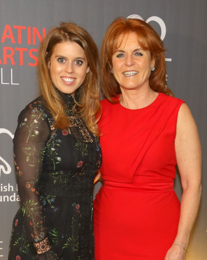 Princess Beatrice and Sarah Ferguson