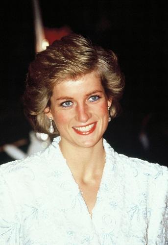 Princess Diana visiting France