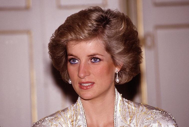 Princess Diana at an event