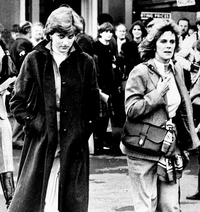 Princess Diana and Camilla Parker Bowles |