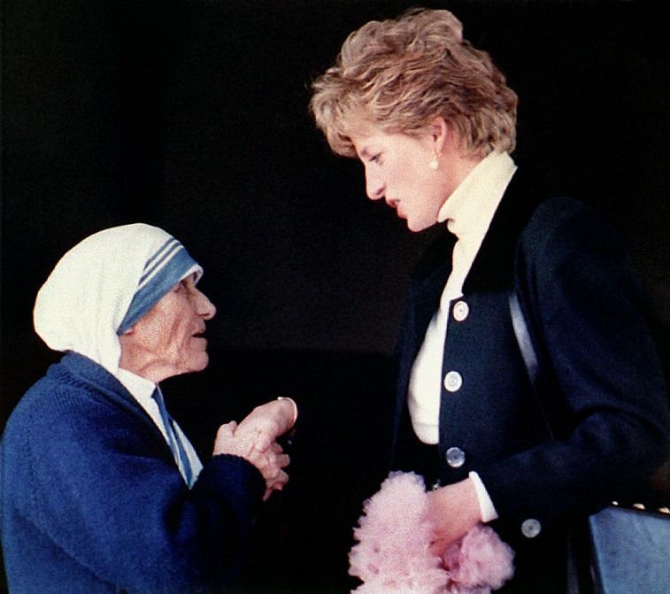 Princess Diana and Mother Teresa