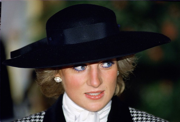 Diana, Princess of Wales wearing a hat