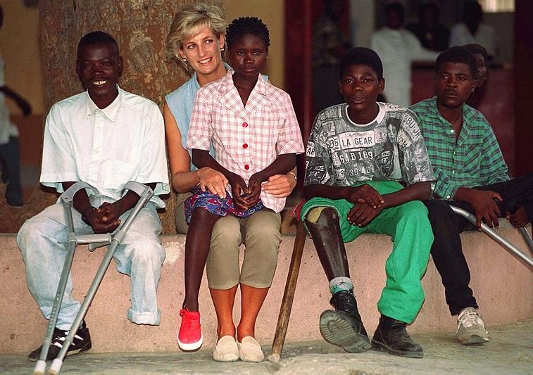 Diana, Princess Of Wales, at Neves Bendinha