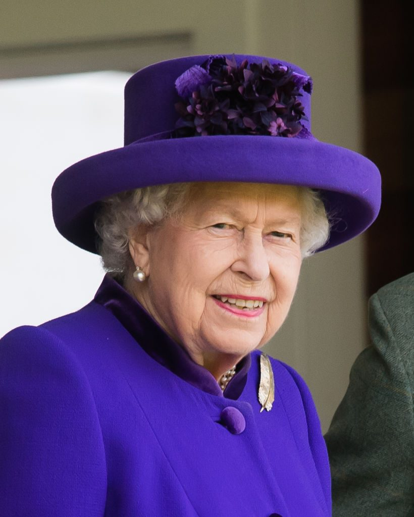 Queen Elizabeth II attends the 2019 Braemar Highland Games
