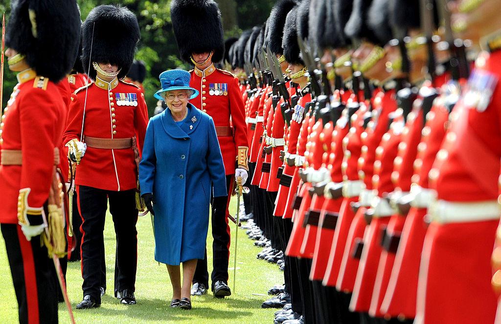 Queen Elizabeth guard