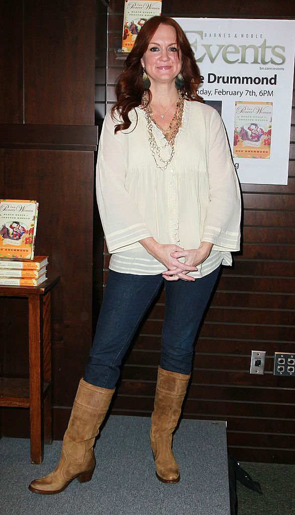 Ree Drummond at a book signing event | David Livingston/Getty Images