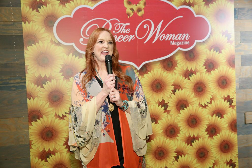 Ree Drummond speaking at her Pioneer Woman magazine launch | Monica Schipper/Getty Images for The Pioneer Woman Magazine