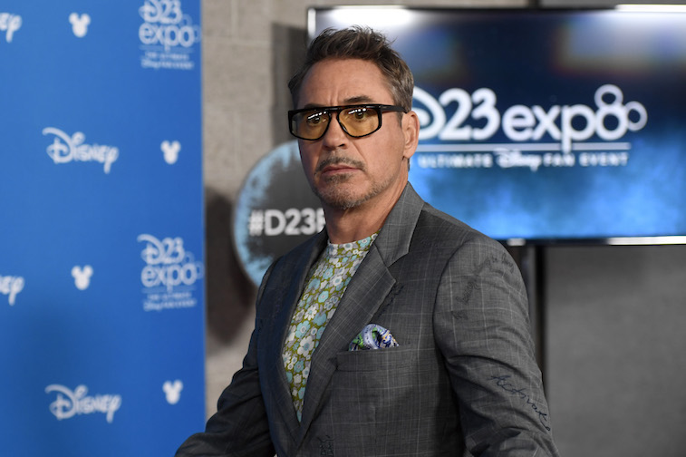 Robert Downey Jr. at the D23 Expo event.