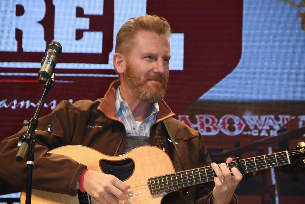 Rory Feek performs on the Flint Rasmussen show