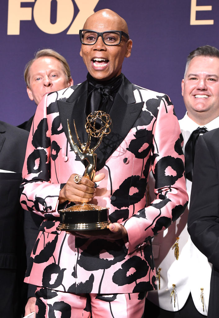 RuPaul at the 71st Emmy Awards