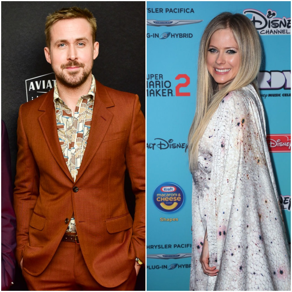 Ryan Gosling and Avril Lavigne related to Justin Bieber