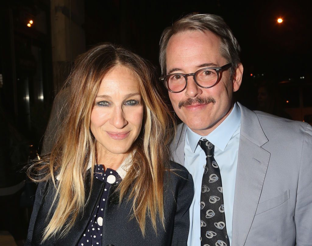 (L) Sarah Jessica Parker and (R)Matthew Broderick attend an after party