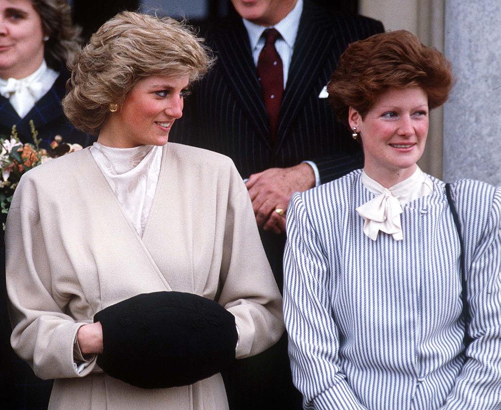 Princess Diana and Lady Sarah