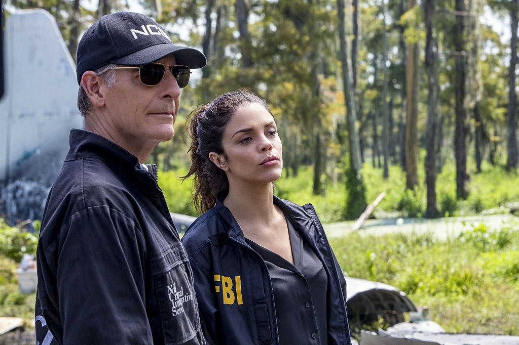 Scott Bakula as Special Agent Dwayne Pride and Shalita Grant as Sonja Percy on 'NCIS: New Orleans.'