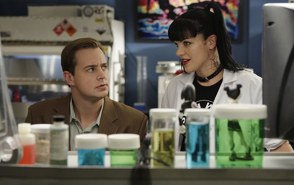Sean Murray and Pauley Perrette | Cliff Lipson/CBS via Getty Images
