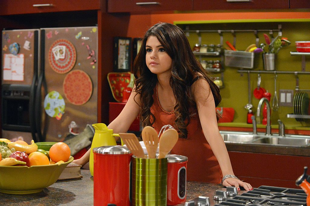 Selena Gomez as Alex Russo on Wizards Of Waverly Place
