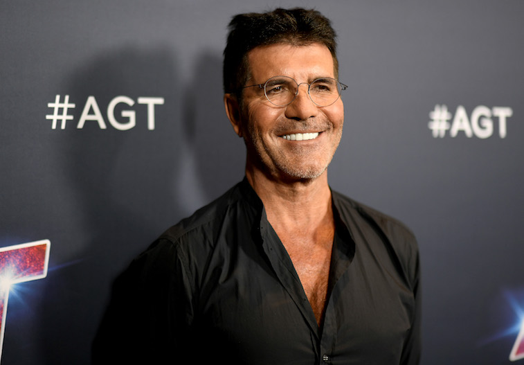 Simon Cowell on the red carpet