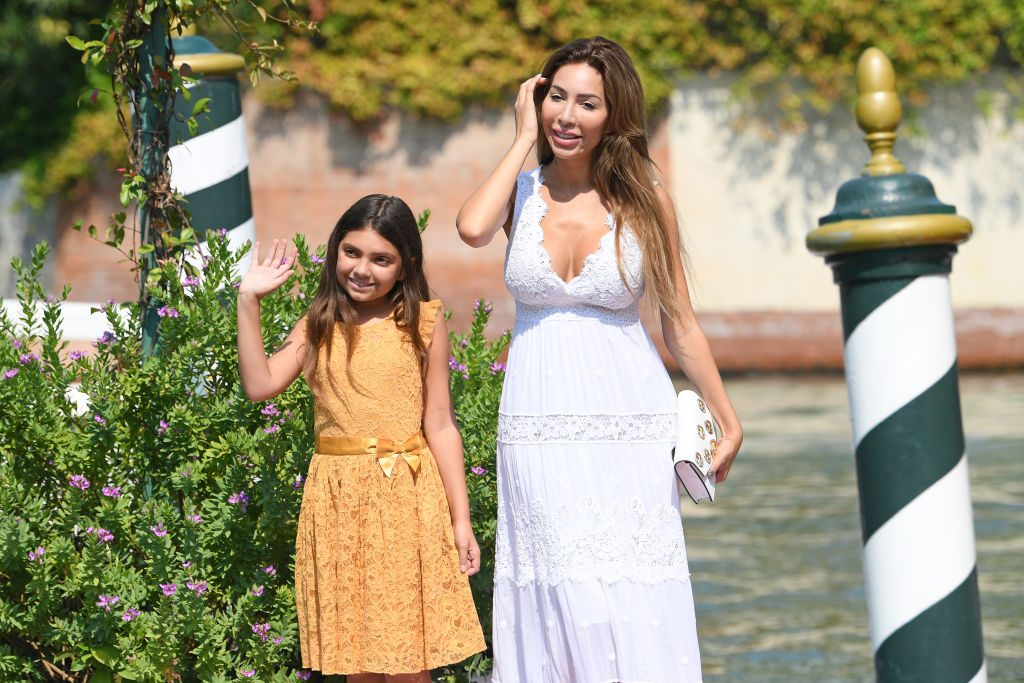 Sophia Abraham & daughter Farrah Abraham school