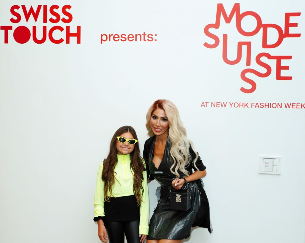 Farrah Abraham with Sophia Abraham | Sean Zanni/Getty Images for Consulate General of Switzerland