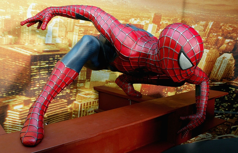 Spider-Man at Madame Tussauds