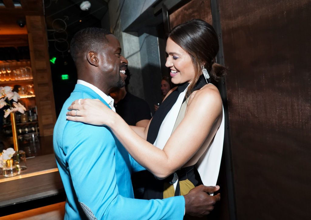 Sterling K. Brown and Mandy Moore