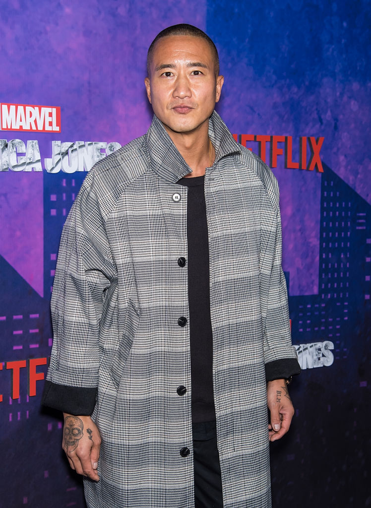 Terry Chen at premiere for Jessica Jones Season 2. Chen will be portraying Genghis Khan in Legends of Tomorrow.