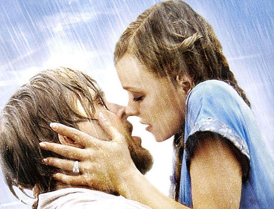 'The Notebook' movie poster, cropped.