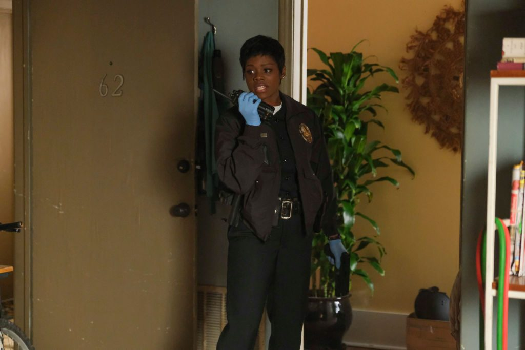 Afton Williamson as Talia Bishop on 'The Rookie'