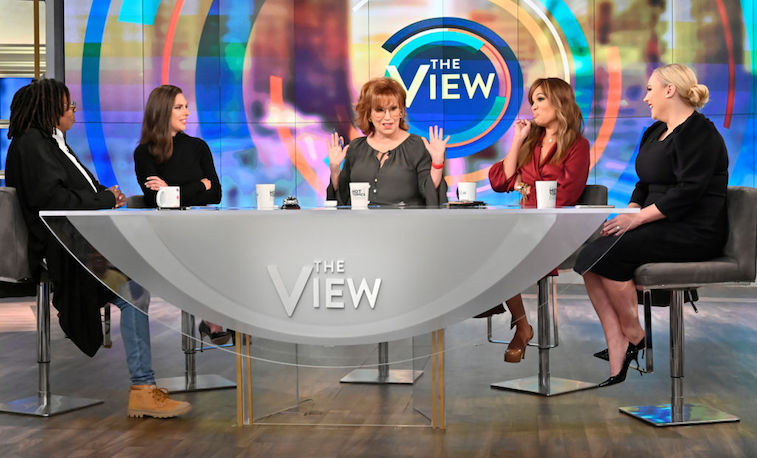 Meghan McCain with 'The View' co-hosts