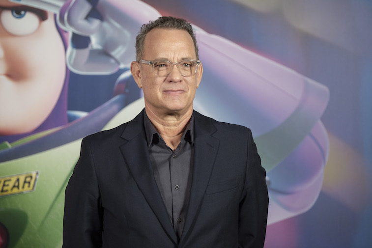 Tom Hanks on the red carpet