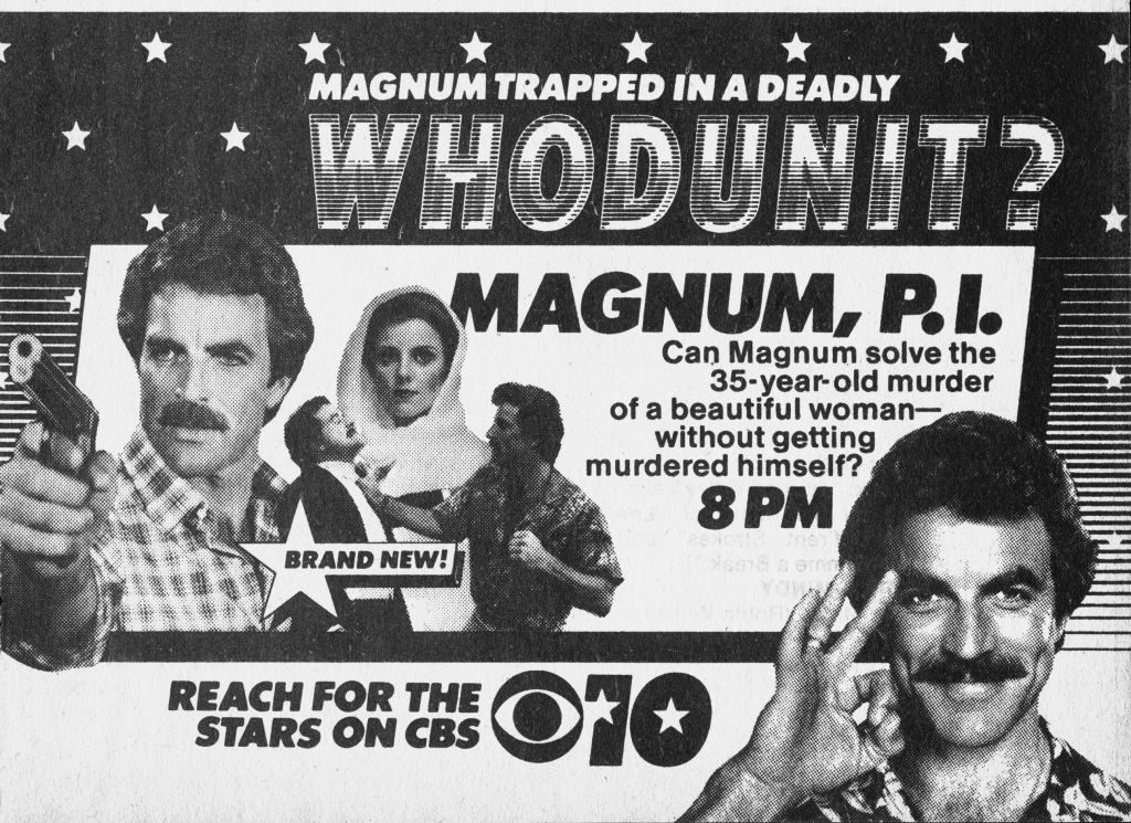 CBS Television advertisement in the October 17, 1981 issue of TV Guide magazine. | CBS via Getty Images