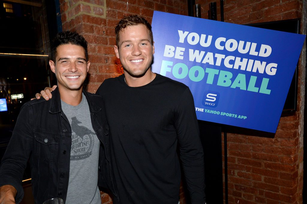 Wells Adams and Colton Underwood | Photo by Brad Barket/Getty Images for Yahoo!