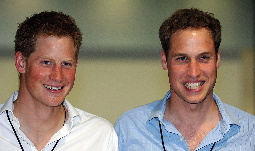 Prince William and Prince Harrry