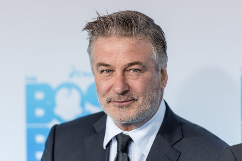 Alec Baldwin at the New York premiere of 'The Boss Baby.'
