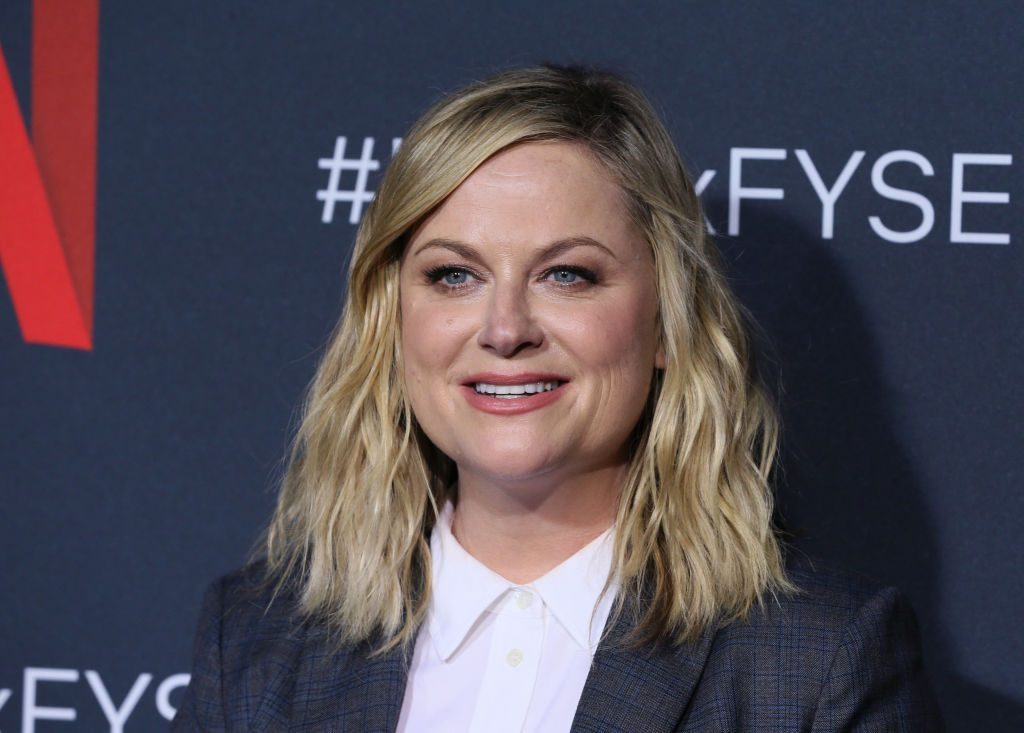 "Amy Poehler attends Netflix's FYSEE event for ""Russian Doll"" on June 09, 2019 in Los Angeles, California."