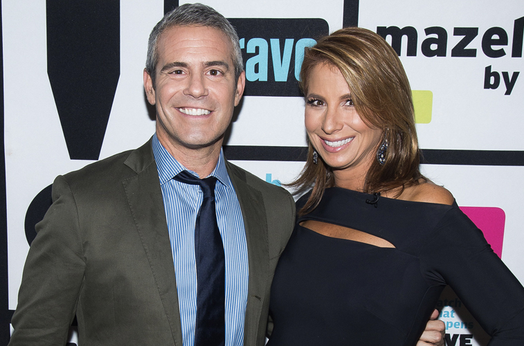 Andy Cohen and Jill Zarin of 'RHONY'