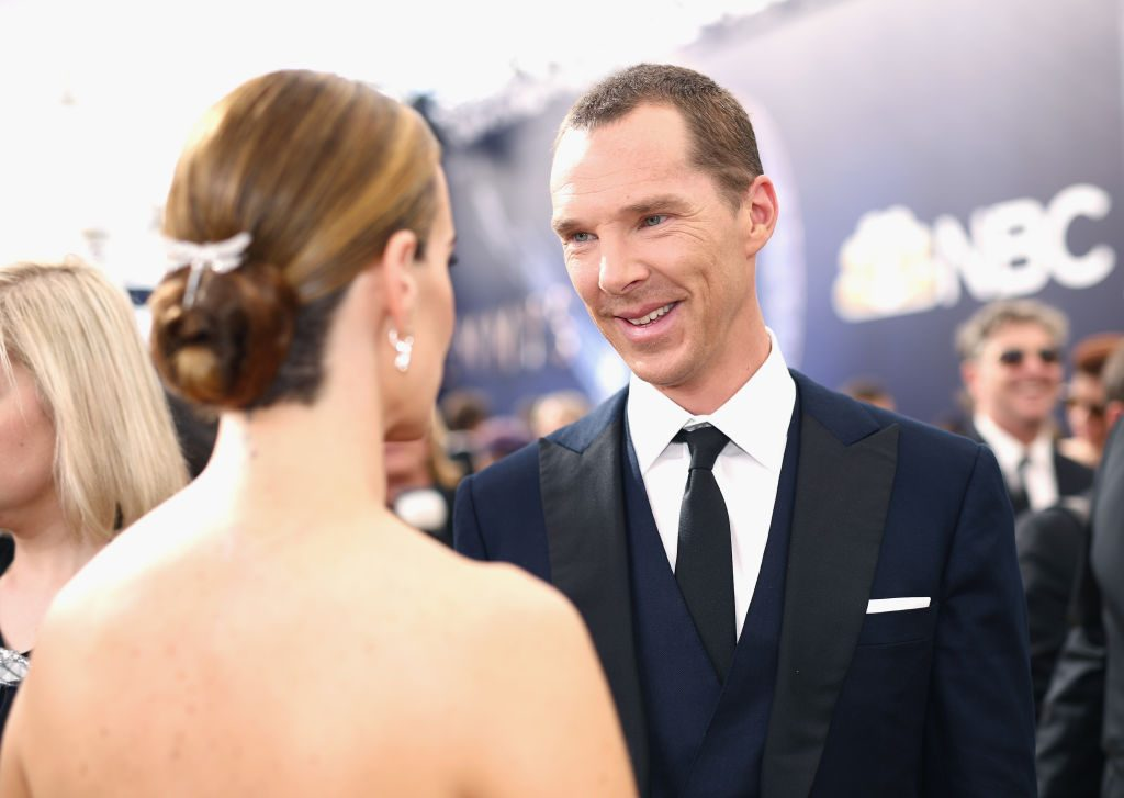 Benedict Cumberbatch attends the 70th Primetime Emmy Awards on September 17, 2018