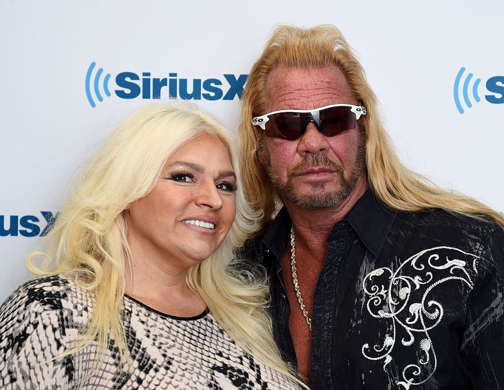 Beth Chapman and Dog the Bounty Hunter
