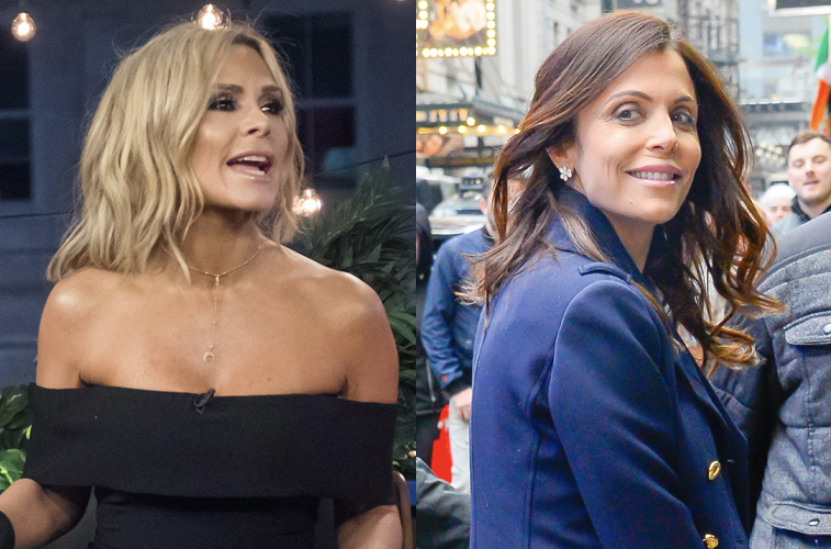Tamra Judge and Bethenny Frankel