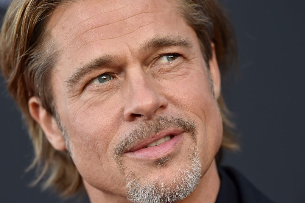 Brad Pitt at the 'Ad Astra' premiere in Los Angeles.